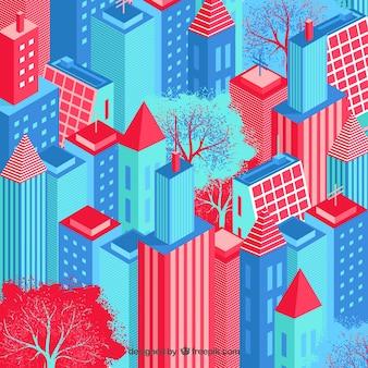 Изометрические город