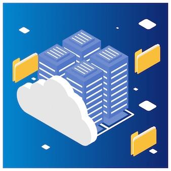 Isometric cloud computing
