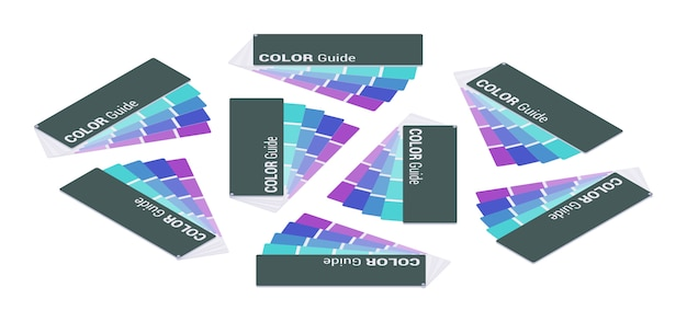 Isometric color guide