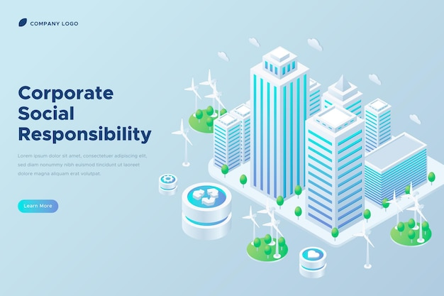 Isometric corporate social responsibility