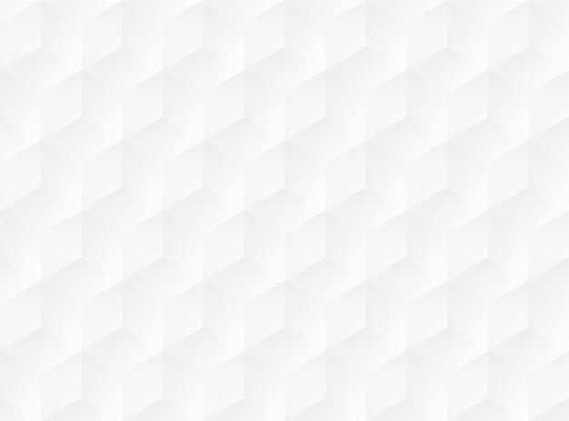 아이소메트릭 큐브 패턴 벡터 일러스트 레이 션. 흰색 배경