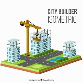 Isometric design of construction