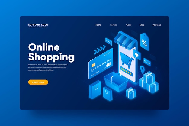 Isometric e-commerce