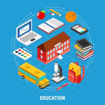 Isometric education element set