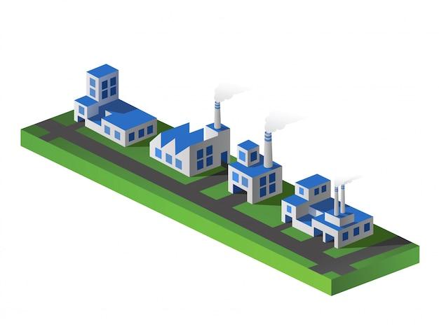 Isometric factories
