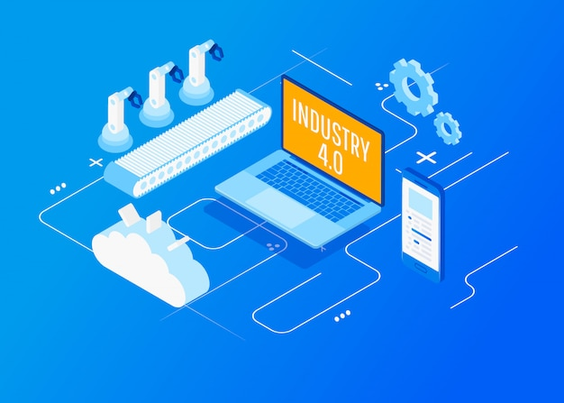 Isometric factory automation