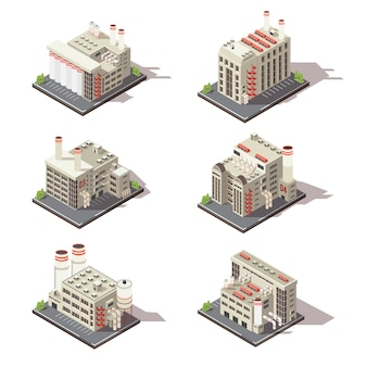 Isometric factory set