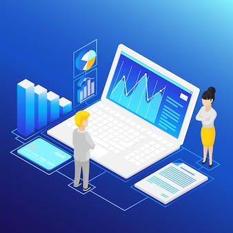Isometric financial analysis