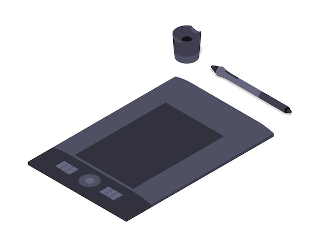 Isometric graphic tablet