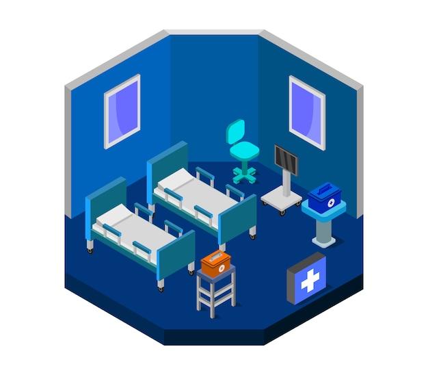 等尺性病室