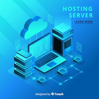 Isometric hosting concept