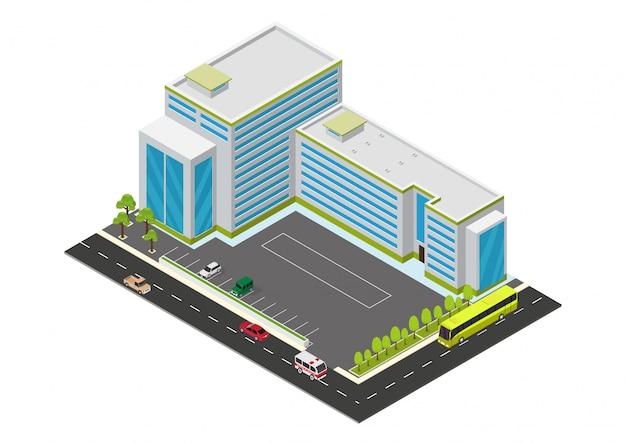 아이소 메트릭 호텔, 아파트 또는 초고층 건물
