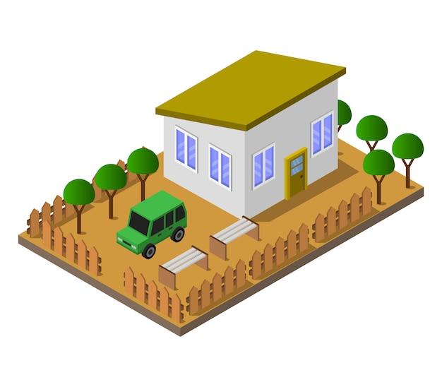 Isometric house