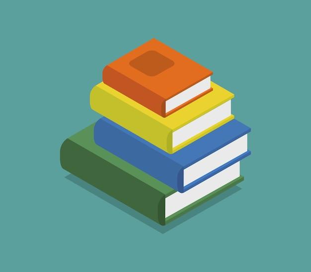 Isometric icon book