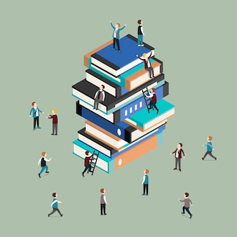 Isometric  of knowledge is power concept