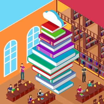 Isometric library