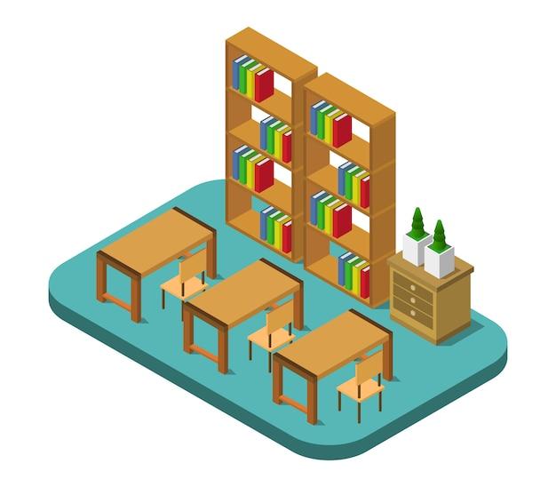 Isometric library