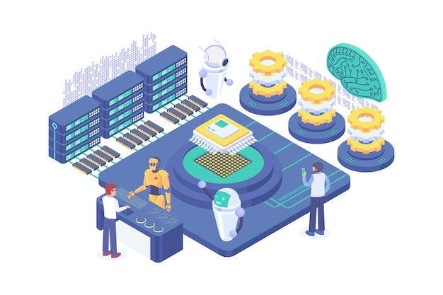 Isometric machine learning concept