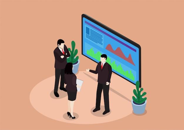Isometric meeting business