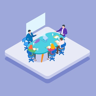 Isometric meeting