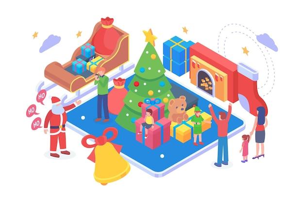 等尺性メリークリスマスベクトルの概念