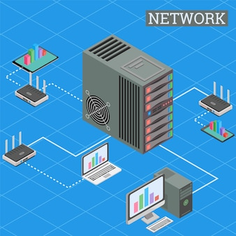 Isometric network internet and cloud computing