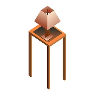 Изометрическая мебель для гостиной