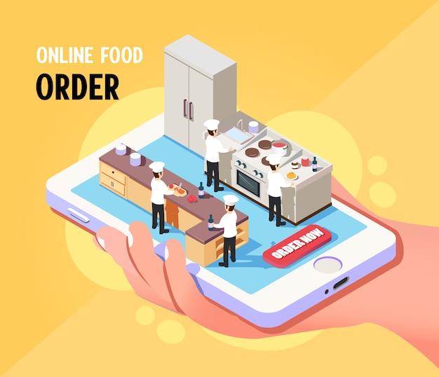 等尺性オンライン食品注文サービス