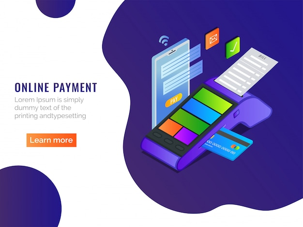 Isometric online payment