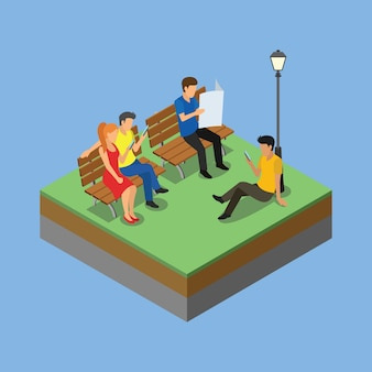 Isometric park activity 2