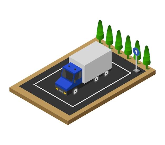 Isometric parking