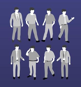 等尺性の人々の上司