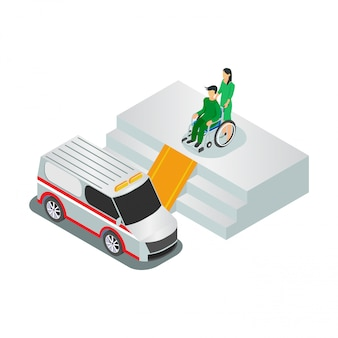 Isometric people health services