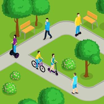 Isometrica people ride