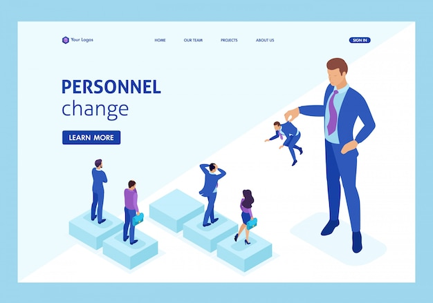 Isometric personnel change, the big boss keeps the employee the rest are afraid.