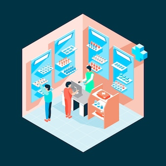 Isometric pharmacy