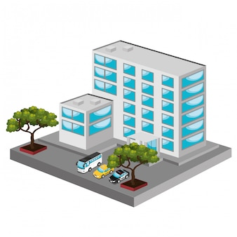 Isometric place