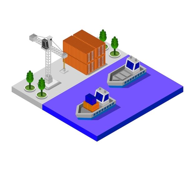 Изометрический порт