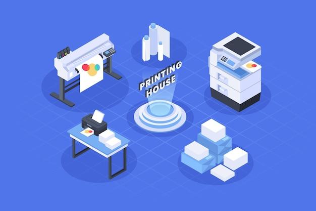 아이소 메트릭 인쇄 산업