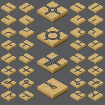 Isometric road kit