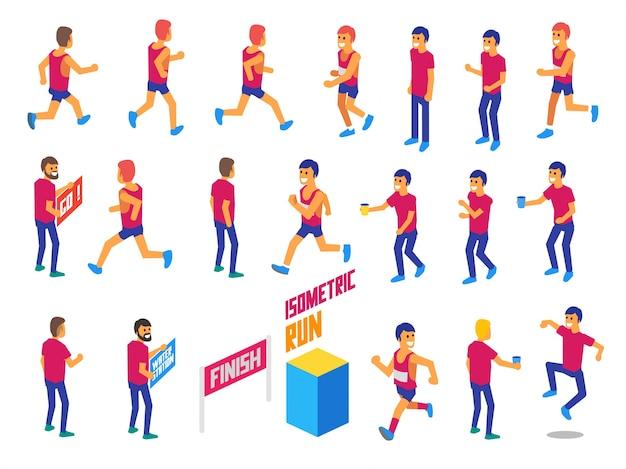 Isometric run