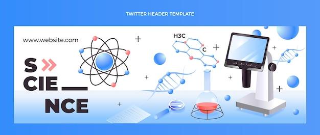 Isometric science twitter header