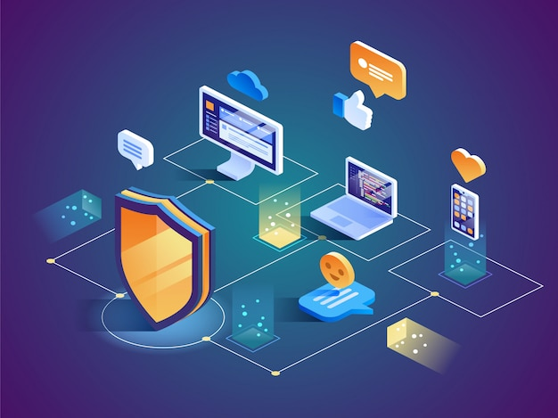 Isometric security data protection