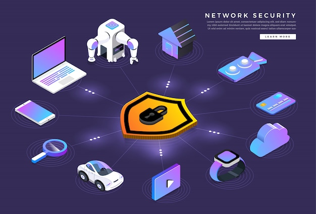 Isometric security network
