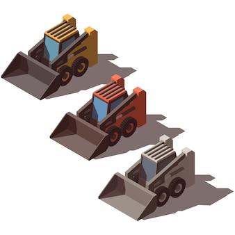 Isometric skid loader