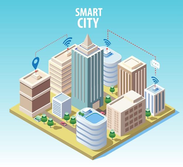 Изометрические технологии умного города
