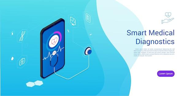 Isometric smart medical diagnostics .