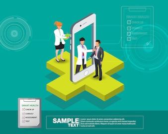 Isometric smart mobile