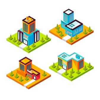 Isometric store collection