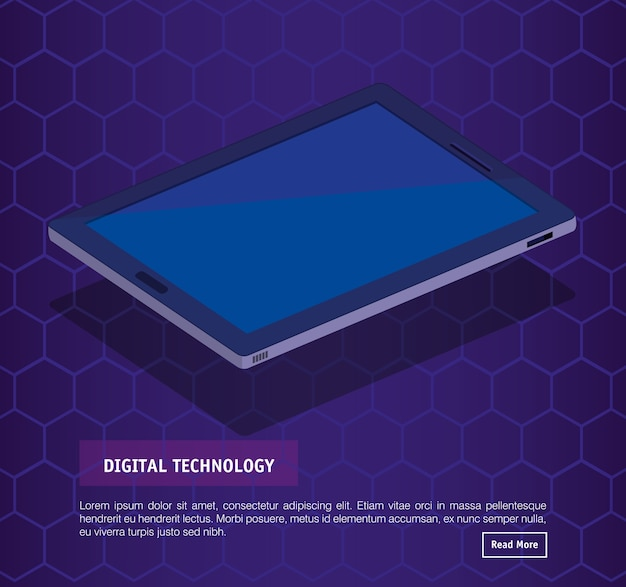 Изометрическая цифровая цифровая технология
